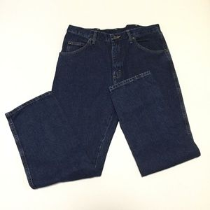 NWT Wrangler 36 x 30 Regular Fit Jeans Blue